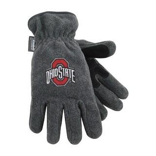 Ohio State University Heavy-Weight Fleece Gloves