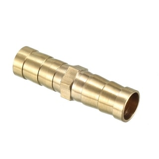 10mm Brass Barb Hose Fitting Straight Connector Joiner Air Water Fuel Boat