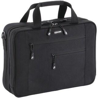 Mobileedge 16/17-Inch Canvas Eco Briefcase Mac, Black (Mecbc1)
