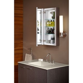 Kohler K-99000 Verdera 30  x 15  Single Door Frameless Medicine Cabinet with  sc 1 st  Overstock.com & Shop Kohler K-99005-R Verdera 30