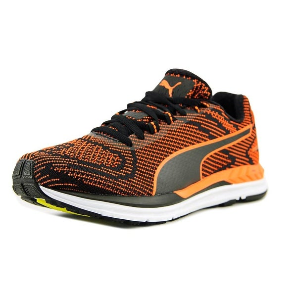 Puma Speed 600 S Ignite Men Round Toe Synthetic Orange Sneakers