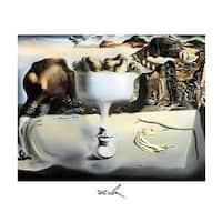 ''Apparition d'un Visage'' by Salvador Dali Fantasy Art Print (15.75 x 19.75 in.)