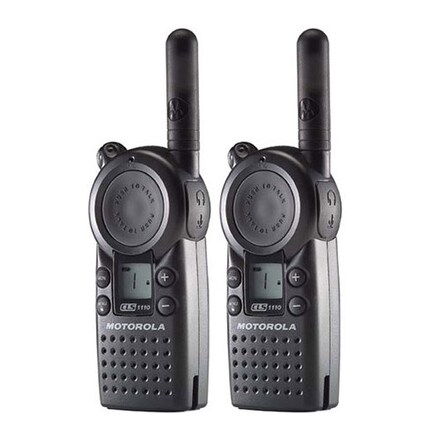 Motorola CLS1110 (2 Pack) Professional 2-Way Radio / 2 Mile Range