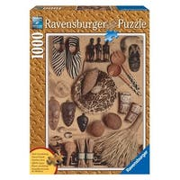 Ravensburger African Artifacts 1000 Piece Wooden Structure Puzzle