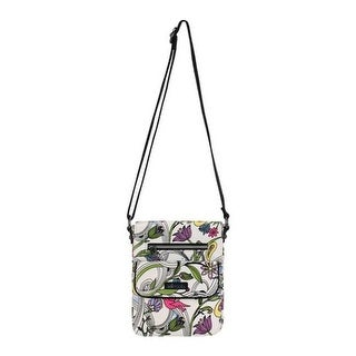 Sakroots Women's Artist Circle Small Flap Messenger Bag White Peace Dove - US Women's One Size (Size None)