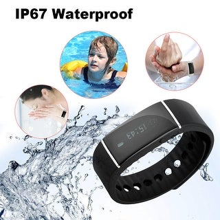 Smart Watches IP67 Bluetooth 4.0 Pedometer Tracking Calorie Health Bracelet
