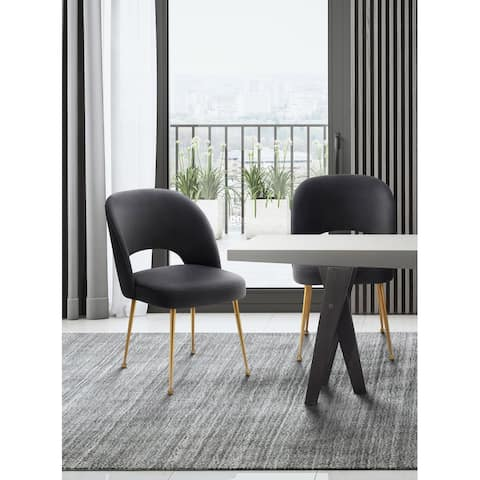 Swell Velvet Upholstered Dining Chair