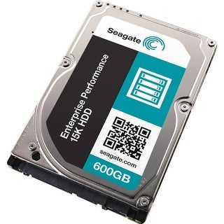 "Seagate ST600MP0015 600 GB 2.5"" Internal Hard Drive - SAS - (Refurbished)"