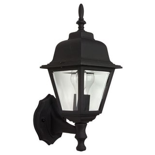 Craftmade Z170 Straight Glass 1 Light Outdoor Wall Sconce - 6 Inches Wide