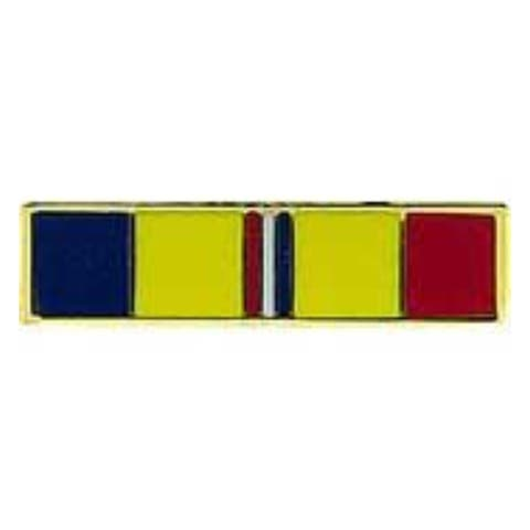Combat Action Ribbon Military Lapel Pin - 3/4 by 1/4 inches