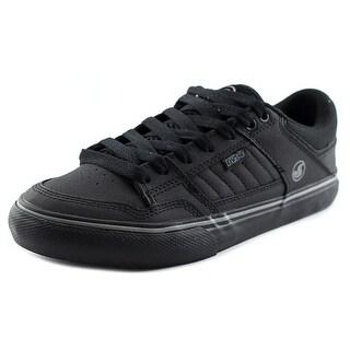 DVS Ignition CT Men Round Toe Leather Black Skate Shoe