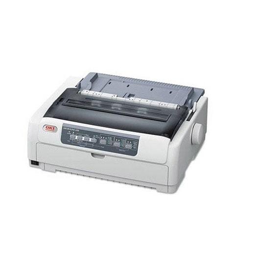 Okidata - Ml690 - Monochrome - Dot-Matrix - 24-Pin Printerhead - Impact Printer - 480 Cps