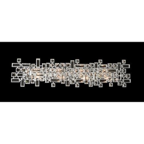 """Allegri 027622-SE001 Vermeer 38"""" Wide ADA Bathroom Vanity Light with"""
