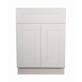 "Design House 561365 Brookings 24"" Double Door Base Cabinet with Drawer"