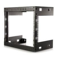 "Startech Rk812walloa 8U 22"" Depth Hinged Open Frame Wall Mount Server Rack"