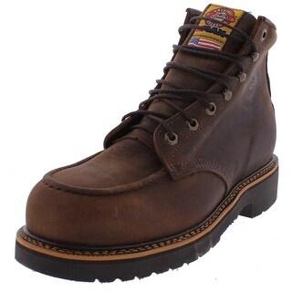 Justin Original Work Boots Mens Steel Toe Boots Leather Lightweight