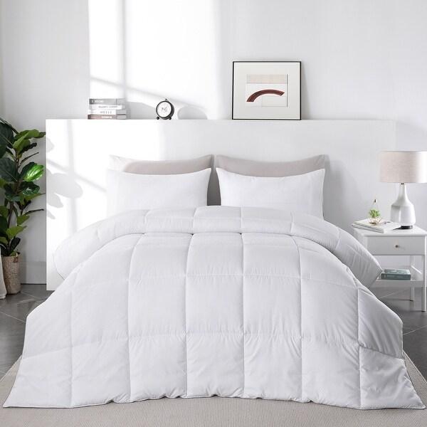 Lightweight Summer Down Alternative Duvet Comforter. Opens flyout.