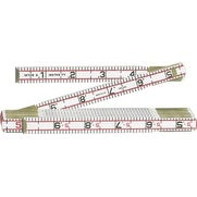 Lufkin 1066DN Red End Engineers Scale Folding Rule, 6' x 5/8""