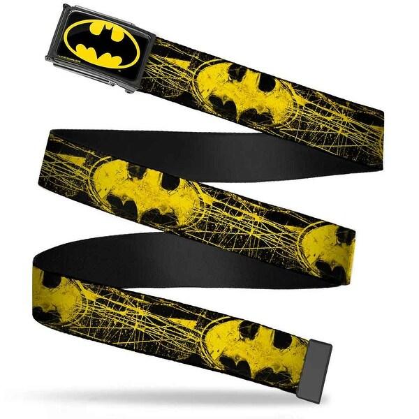 Batman Fcg Black Yellow Black Frame Batman Shield Close Up Sketch Web Belt