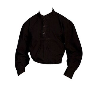 Scully Western Shirt Boys Kids Pull Over Long Sleeve Pleat 500020K