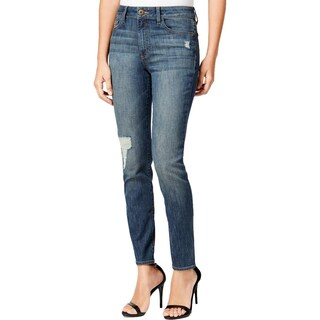 DL1961 Womens Farrow Skinny Jeans Destroyed Slimming - 29