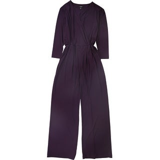 Link to Alfani Womens Surplice Jumpsuit, purple, Small Similar Items in Outfits