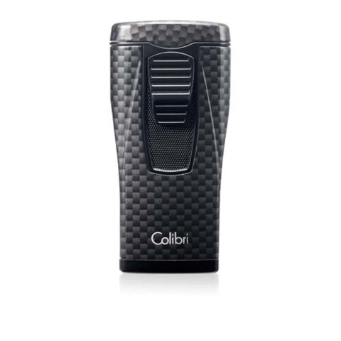 Colibri Monaco Triple Jet Flame Black Carbon Fiber Lighter