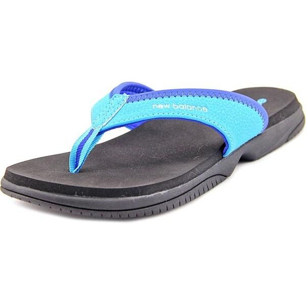 New Balance K2017 Women Open Toe Synthetic Black Thong Sandal