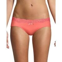 Maidenform® Comfort Devotion® Embellished Hipster - Color - Coral Punch - Size - 9