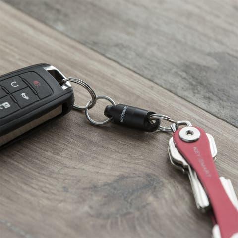 Keysmart MagConnect Magnetic Keychain - Black - One Size