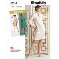 20W-28W - Simplicity Misses / Plus Size Dress 8254