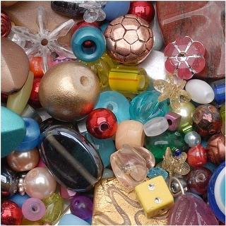 Link to * Mr. Kitty's Big Bead Bonanza - Beads Mix - 1/2 Pound Similar Items in Jewelry & Beading