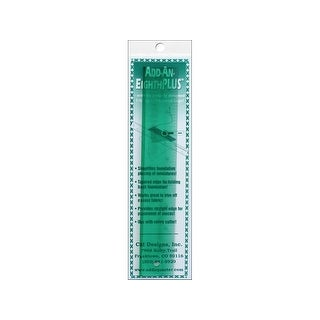 "CM Designs Ruler 8"" Add-An-Eighth Plus"