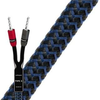 AudioQuest Type 4 Star Quad Speaker Cable - 6 Feet - Pair (Gold BFA)