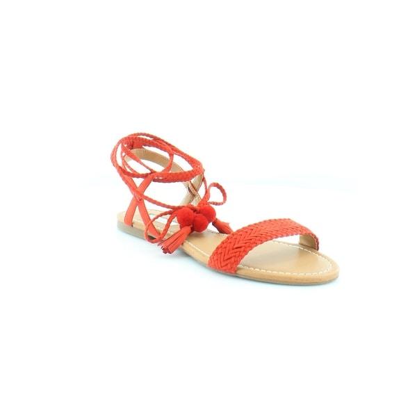 INC International Concepts Ganice Women's Sandals & Flip Flops Spring Red