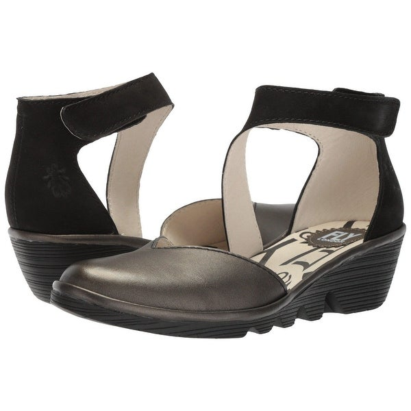 Fly Loundon Womens Pats801Fly Closed Toe Casual Platform Sandals - 7.5