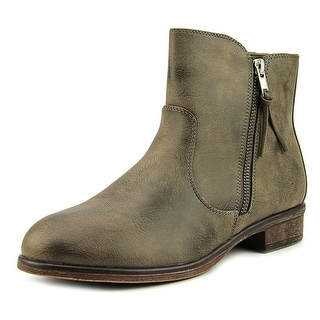 White Mountain BARLOW   Round Toe Leather  Ankle Boot