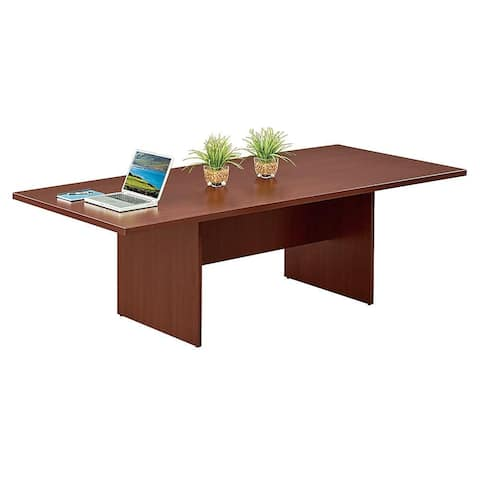 """Copper Grove Flemming 96-inch Rectangular Conference Table - 96"""" x 44"""" x 30"""""""
