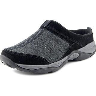 Easy Spirit EZ Time Round Toe Suede Walking Shoe