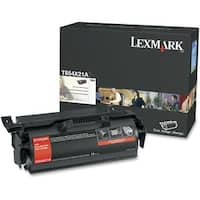 Lexmark T654X21A Lexmark Extra High Yield Black Toner Cartridge - Laser - 36000 Page - Black