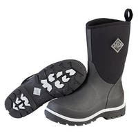 Muck Boots Black Youth's Element Boot w/ Warm Fleece Lining - Size 12