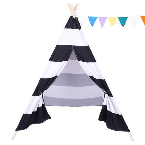 Portable Playhouse Children Classic Indian Play Tent
