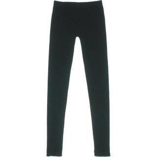 Tees by Tina Womens Seamless Ribbed Trim Leggings - o/s