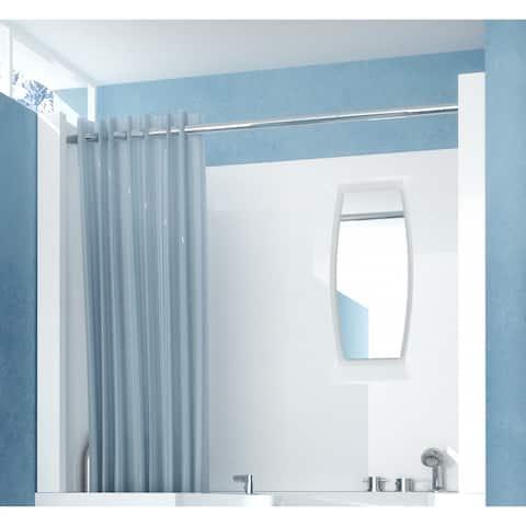 "MediTub A2747SEN 27"" D x 47"" W Shower Enclosure for 2747 Walk In Tub - White"
