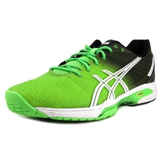 Asics Gel-Resolution 6 Men  Round Toe Synthetic Green Running Shoe