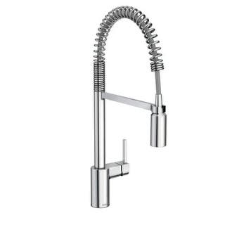Moen 5923 Align Pre-Rinse High-Arc Kitchen Faucet with PowerClean and Duralock Technologies|https://ak1.ostkcdn.com/images/products/is/images/direct/dcde83602dbcf219ccf0ccfee595bd489b9e7a6a/Moen-5923-Align-Pre-Rinse-High-Arc-Kitchen-Faucet-with-PowerClean-and-Duralock-Technologies.jpg?impolicy=medium