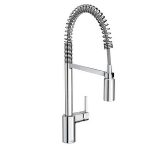 Moen 5923 Align Pre-Rinse High-Arc Kitchen Faucet with PowerClean and Duralock Technologies