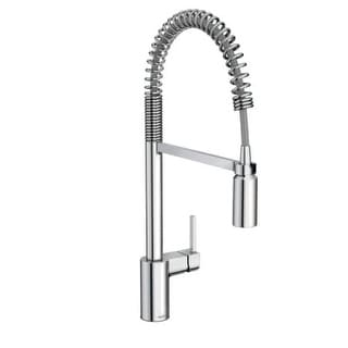 moen align prerinse higharc kitchen faucet with powerclean and duralock