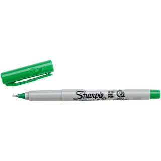 Sharpie Ultra Fine Point Permanent Marker Open Stock-Green