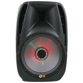 """Qfx 10"""" Portable Bluetooth Party Pa Speaker"""